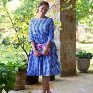 Dainty Jewells Royal Blue Day at the Fair Dress